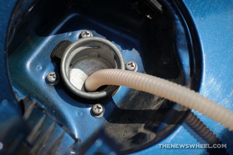 siphon gas tank hose science