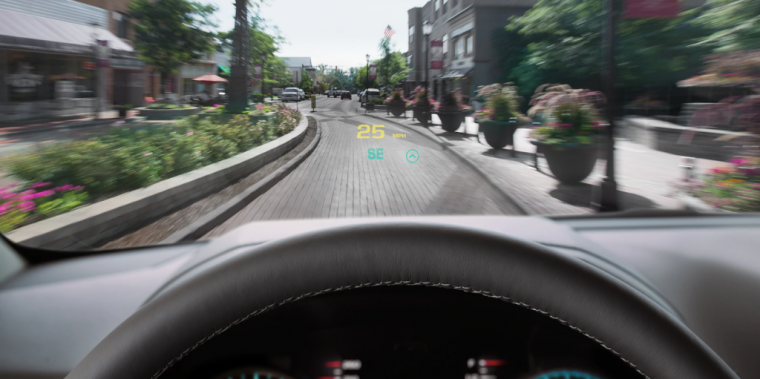 2019 Chevrolet Suburban head up display