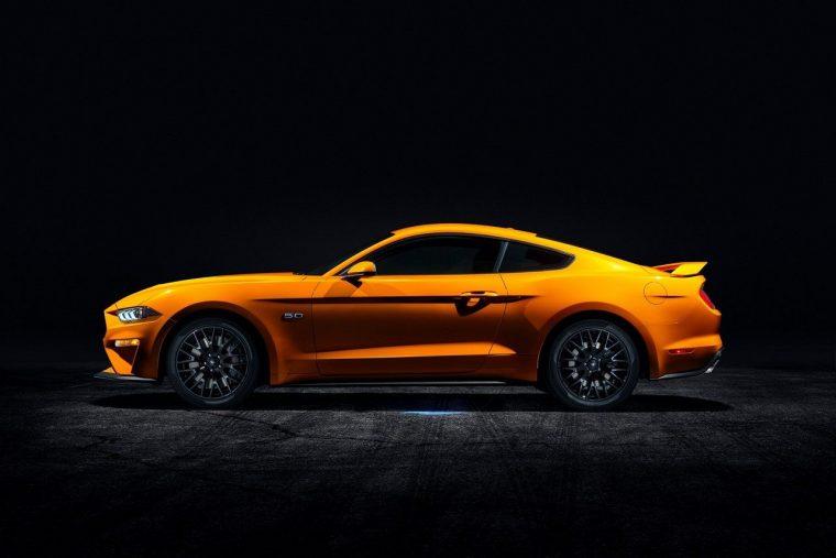 2019 Ford Mustang Orange Fury Metallic Tri-coat