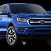 2019 Ford Ranger Lariat SuperCrew Blue Lightning