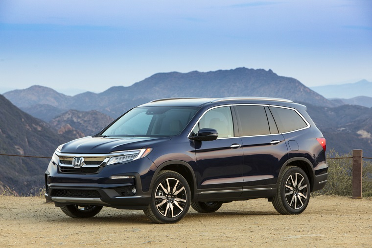 2019 Honda Pilot Receives IIHS Top Safety Pick+ Rating - The News Wheel
