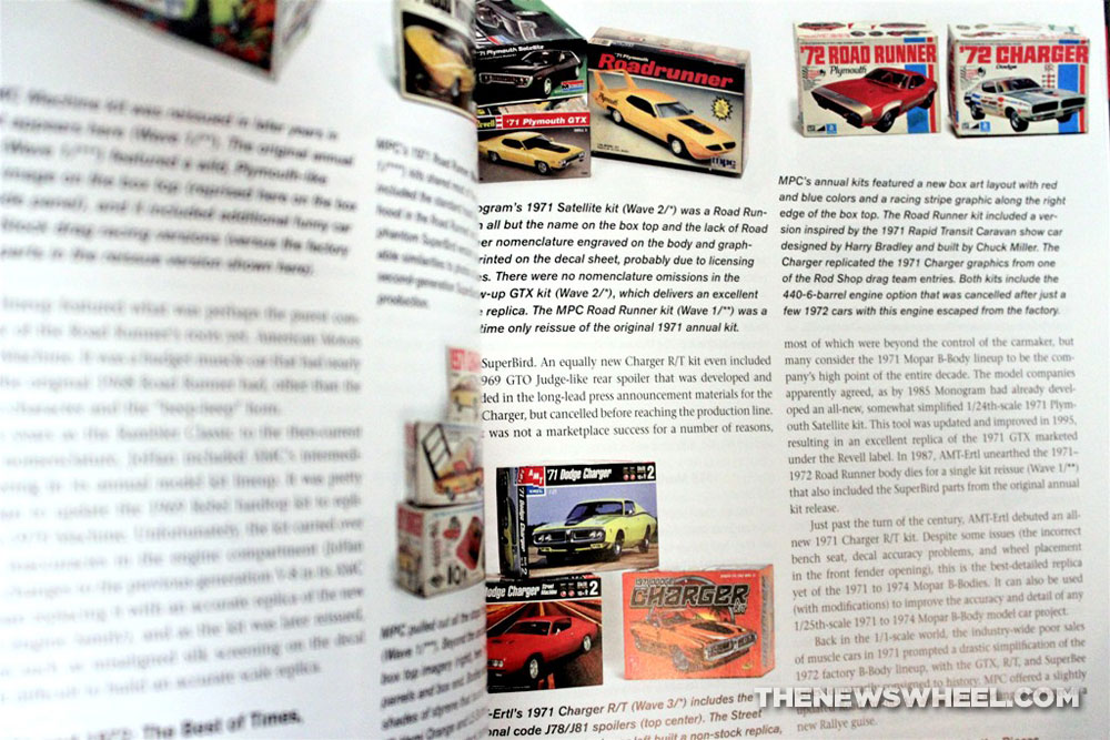 Book Spotlight Collecting Muscle Car Model Kits The News Wheel