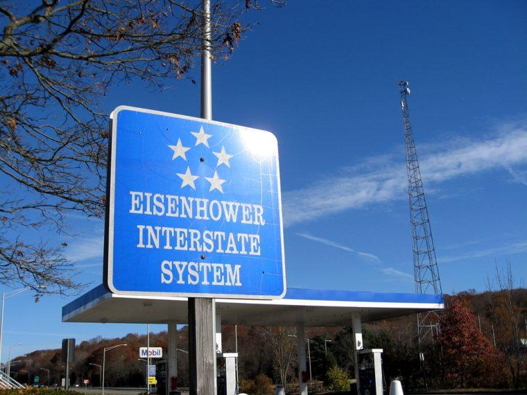 Eisenhower Interstate System Sign