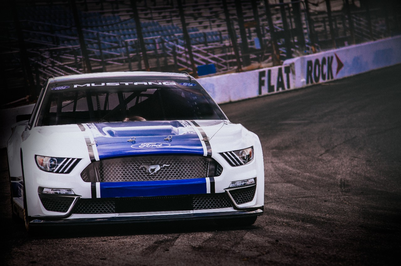 Ford Mustang NASCAR Cup Race Car Revealed Ahead of Daytona ...