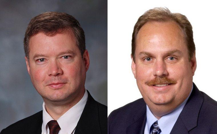 Steve Biegun and Bruce Hettle