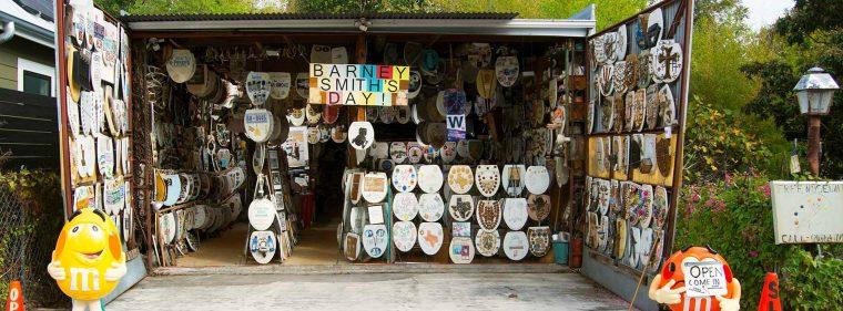 barney smith's toilet seat art museum san antonio texas