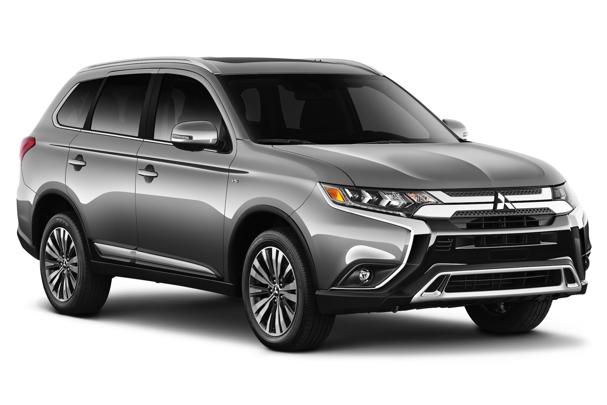 2019 mitsubishi outlander overview the news wheel. Black Bedroom Furniture Sets. Home Design Ideas