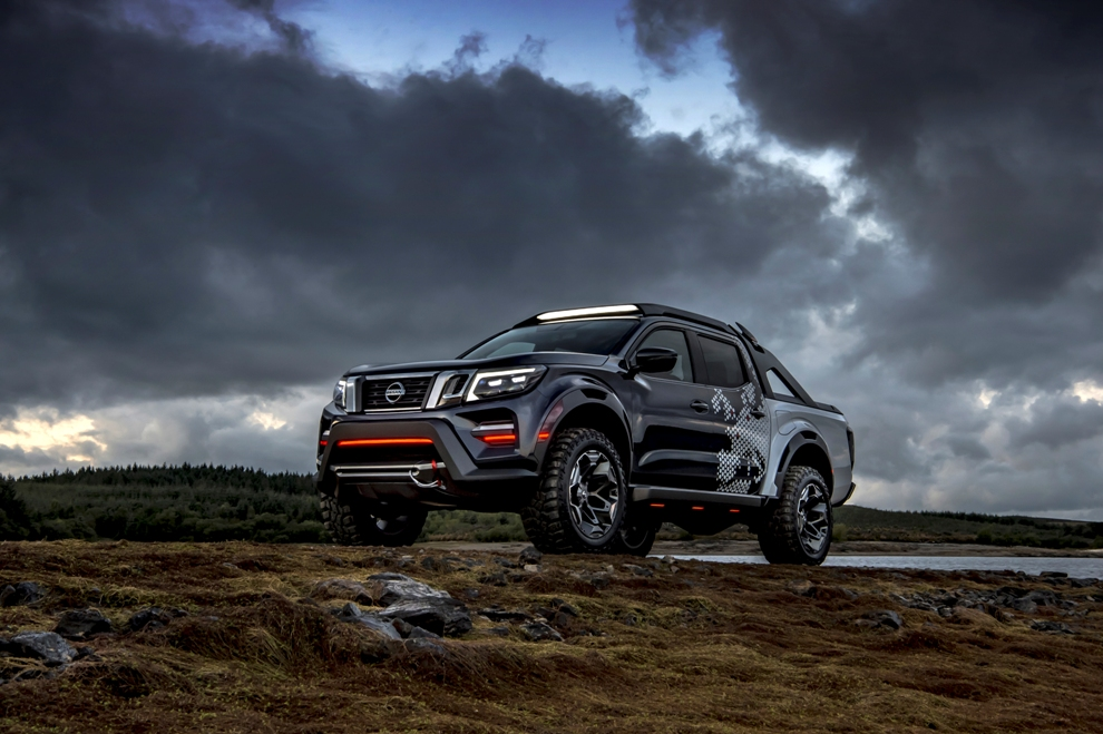 Nissan Navara Dark Sky Concept Is out of This World - The News Wheel