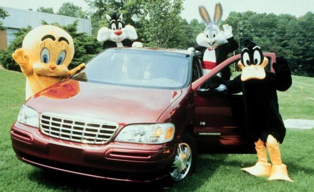 Chevy Venture Warner Bros Edition bugs bunny looney tunes minivan