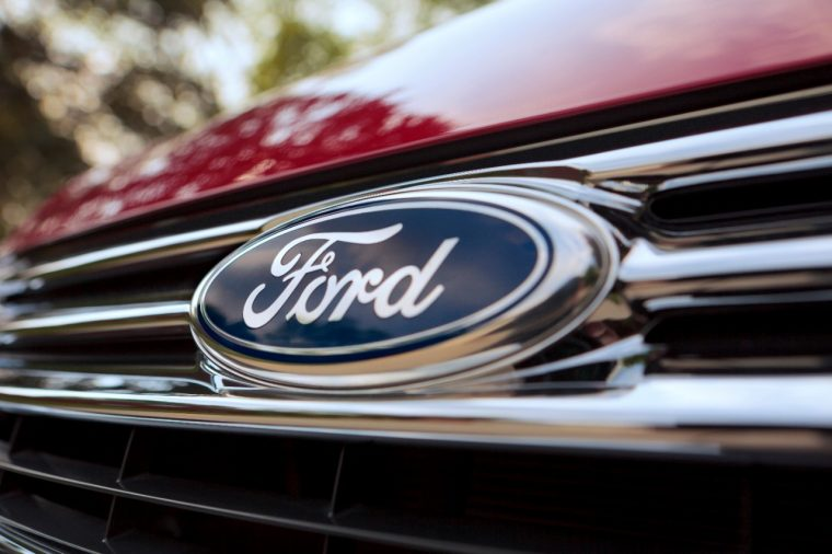 Ford Logo Hurricane Florence Relief Efforts