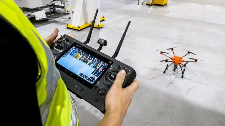 Ford Dagenham Uses Drones