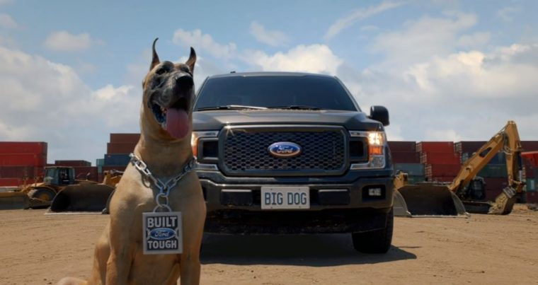 "New Ford F-150 commercial ""Big Dog"""