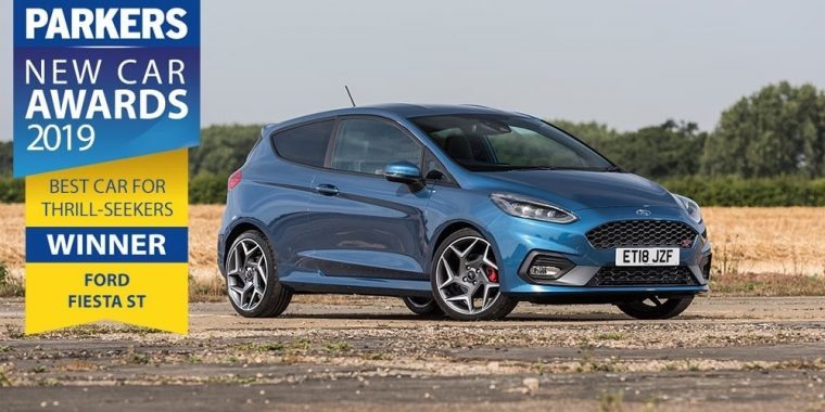 Ford Fiesta ST Parkers New Car Awards 2019
