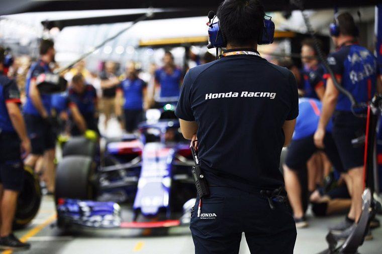 Honda Racing at 2018 Singapore GP