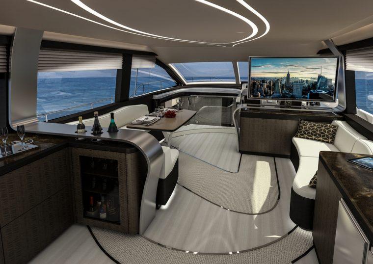 Lexus LY 650 interior