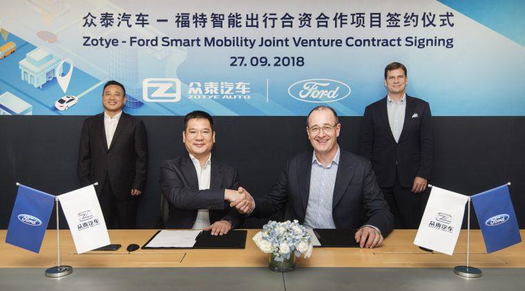 Zotye Ford Smart Mobility Technology Co., Ltd.