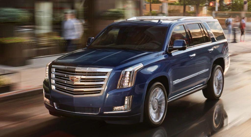 2019 Cadillac Escalade Overview