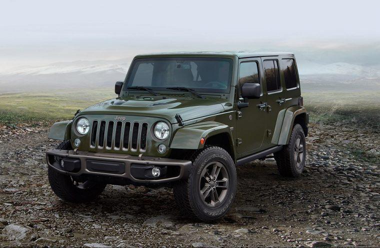 2016 jeep wrangler green hardtop