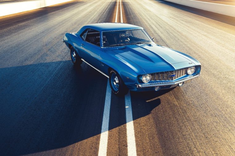 The 1969 COPO Camaro was a special-order performer. Only 69 were
