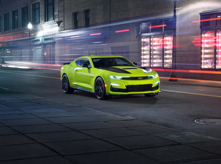 2019 Chevrolet Camaro Receives New Quot Shock Quot Yellow Exterior
