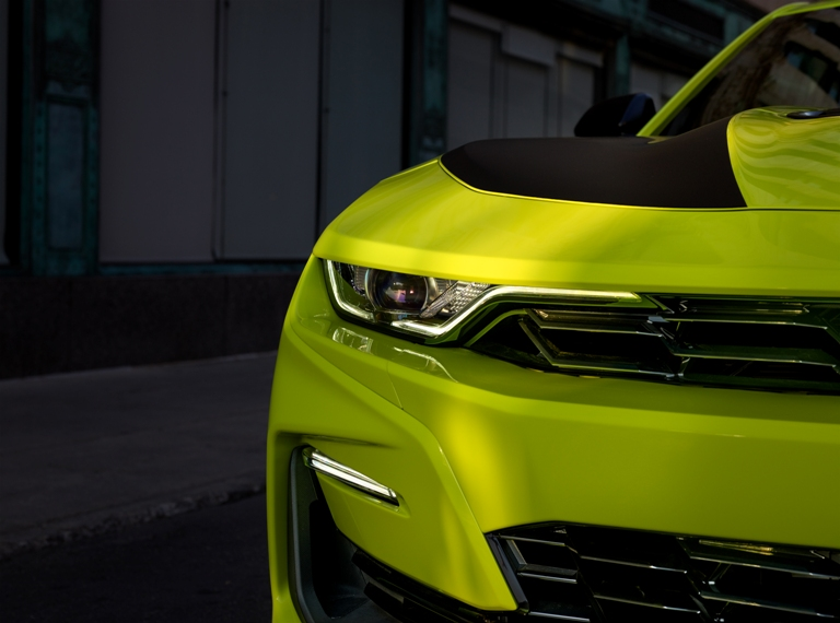 "2019 Chevrolet Camaro Receives New ""Shock"" Yellow Exterior ..."