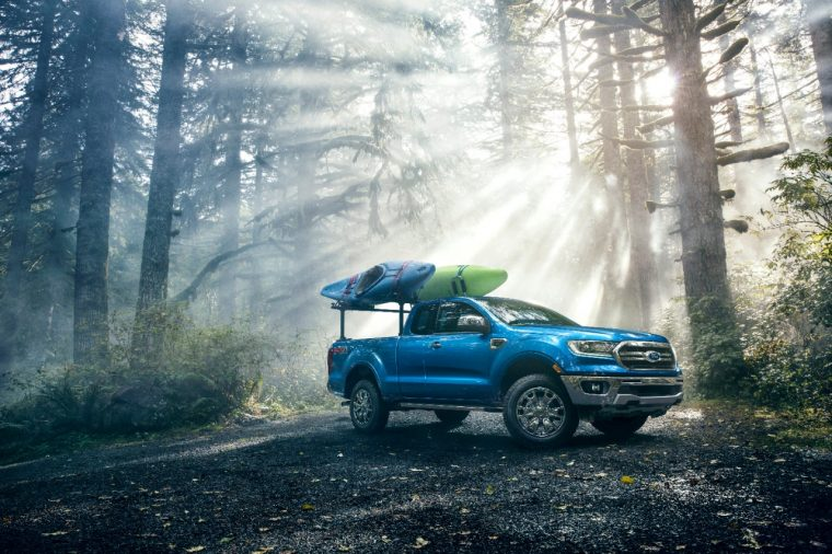 2019 Ford Ranger Lariat Chrome FX4 SuperCab