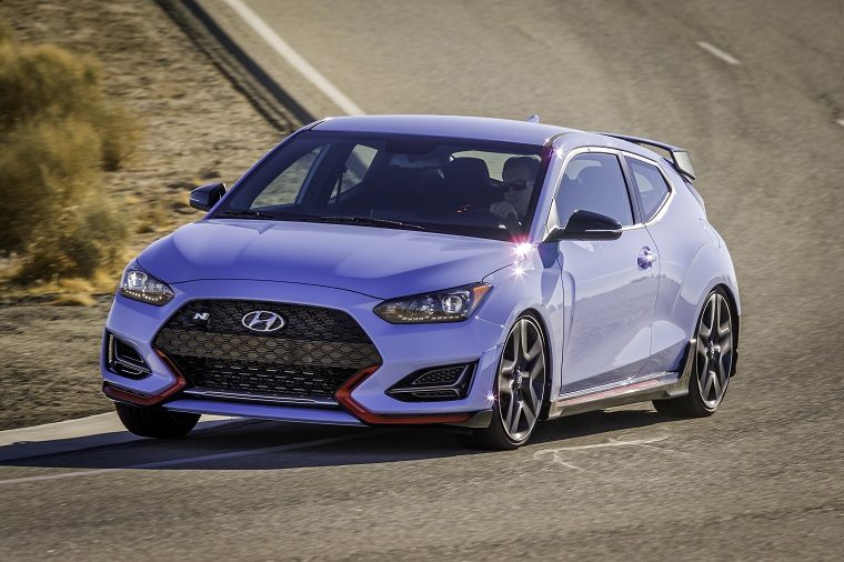 2019 Hyundai Veloster N features and specs