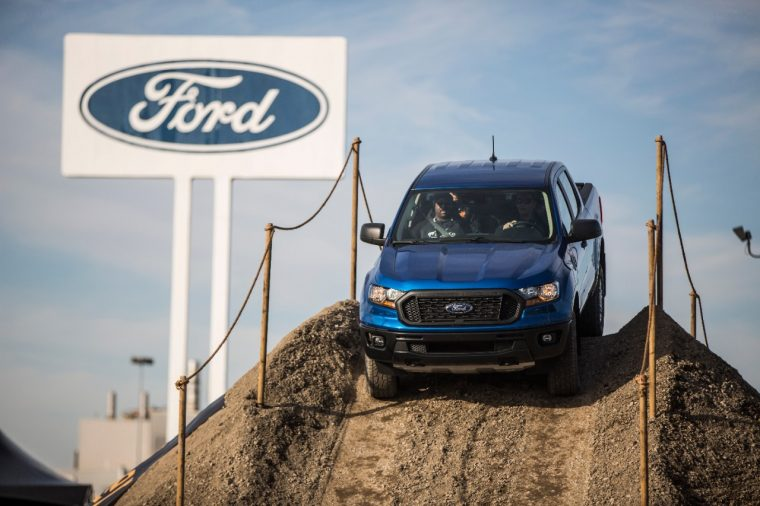 Ford Ranger Production Underway | Joe Hinrichs Doesn't Think Ford Ranger Will Eat into F-150 Sales
