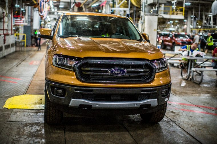 Ford Ranger Production Underway
