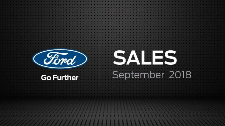 Ford Europe Sales September 2018