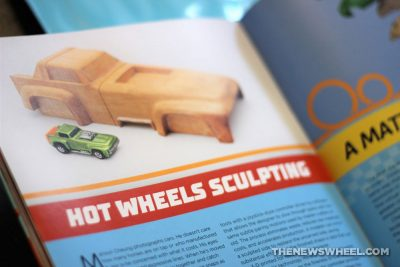 Hot Wheels From 0 to 50 at 1-64 Scale Book Review Kris Palmer Motorbooks modelling pages