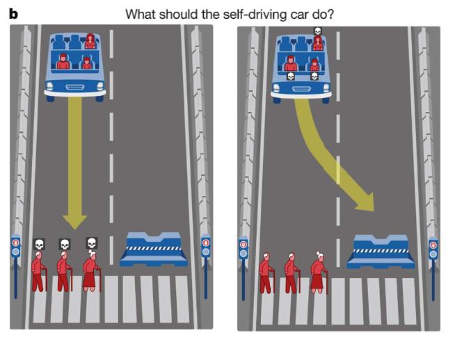 Moral Machine scenario