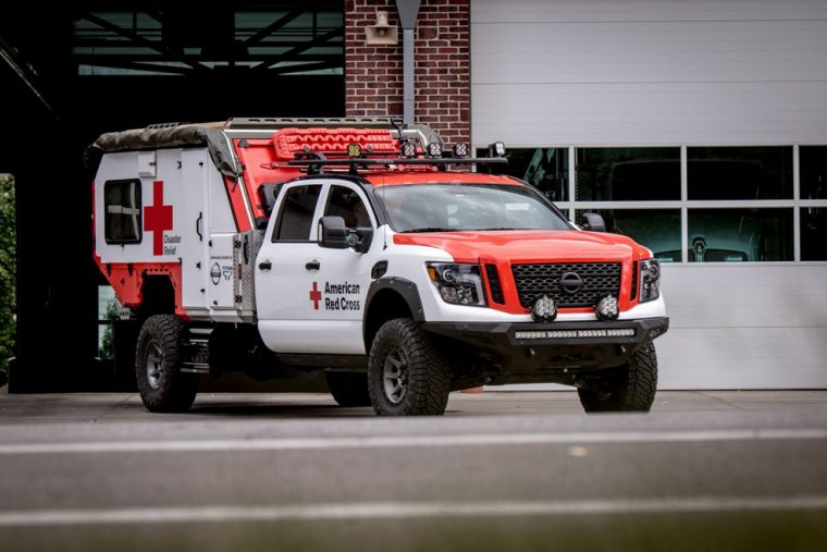 Nissan Donates Rescue Vehicle To Red Cross The News Wheel