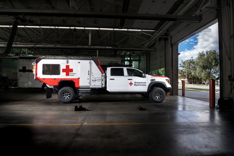 Nissan Donates Rescue Vehicle To Red Cross - The News Wheel