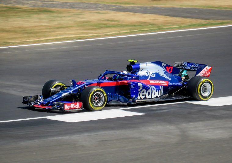 Pierre Gasly at 2018 British GP