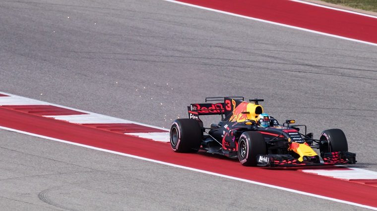 Ricciardo at 2017 US GP