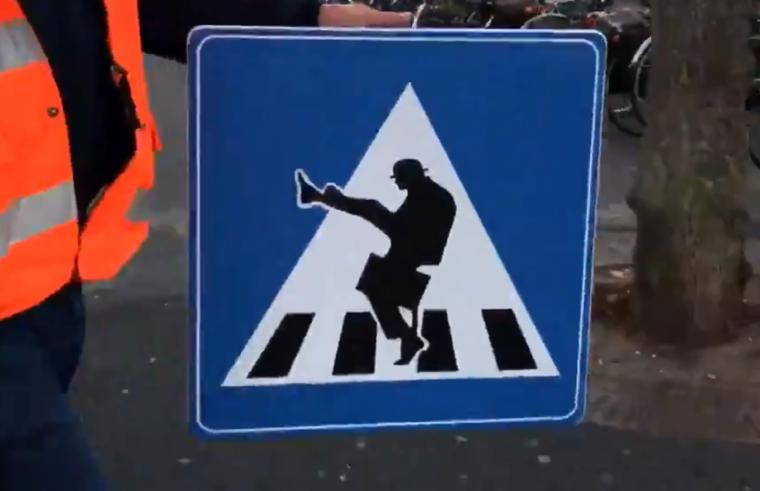 Silly Walk crossing
