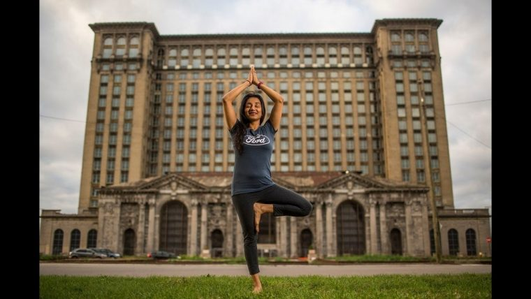 Sushma Patel Yoga Michigan Central Station