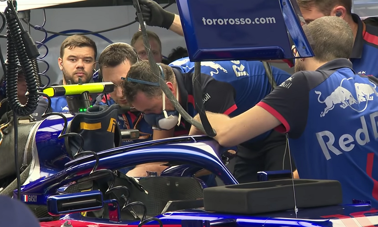 Toro Rosso at 2018 Japanese GP