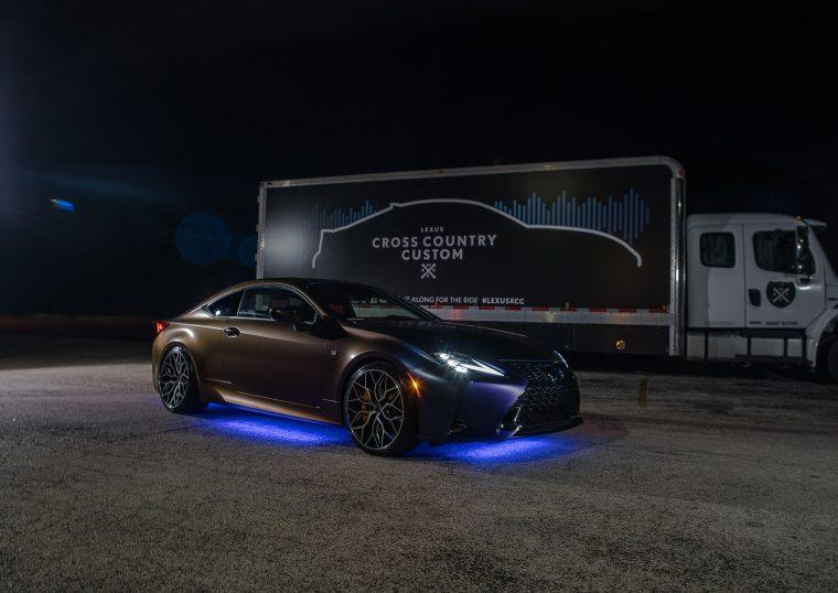 2019 Lexus RC 350 F Sport Cross Country Custom