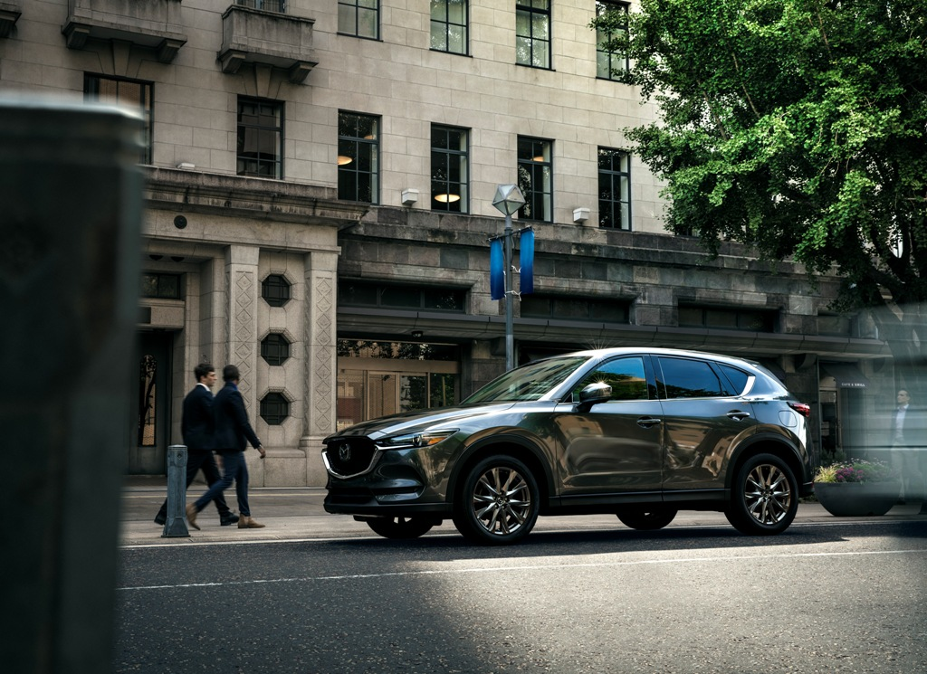mazda unveils refreshed cx 5 at seattle auto show the news wheel. Black Bedroom Furniture Sets. Home Design Ideas