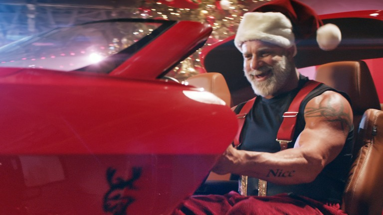 """Santa Gets """"Swole"""" in Dodge's Latest Holiday Commercials ..."""