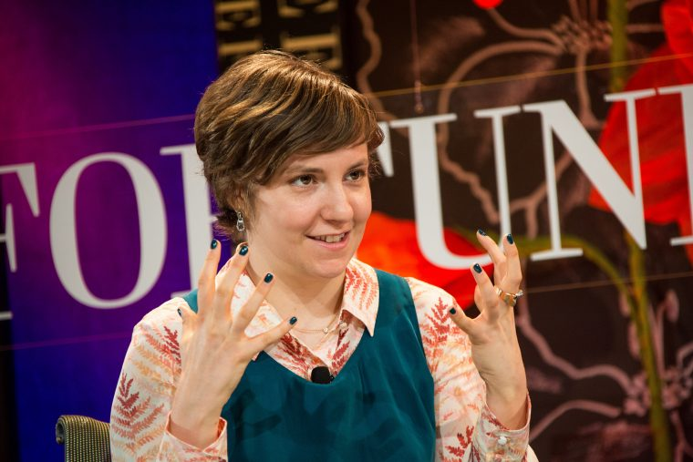 Lena Dunham on Fortune's Most Powerful Women 2012