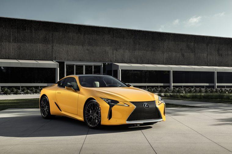 Lexus LC 500 Inspiration Series concept