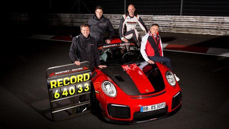 Porsche 911 GT2 RS MR Nurburgring Record