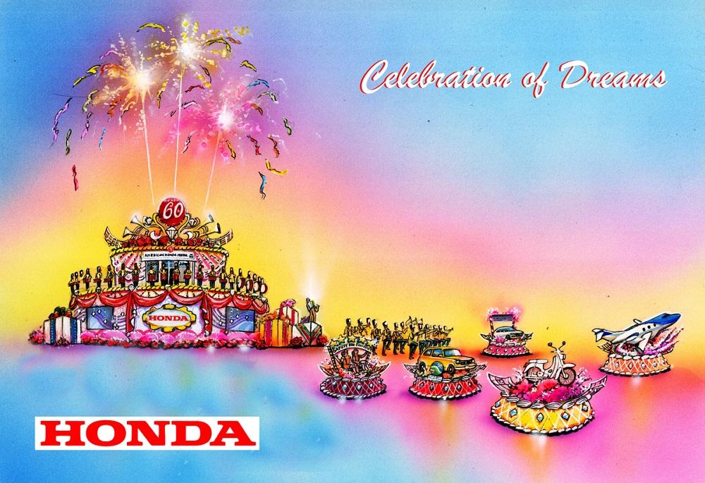 """Honda Of Pasadena >> Honda's """"Celebration of Dreams"""" Float to Lead the 2019 ..."""