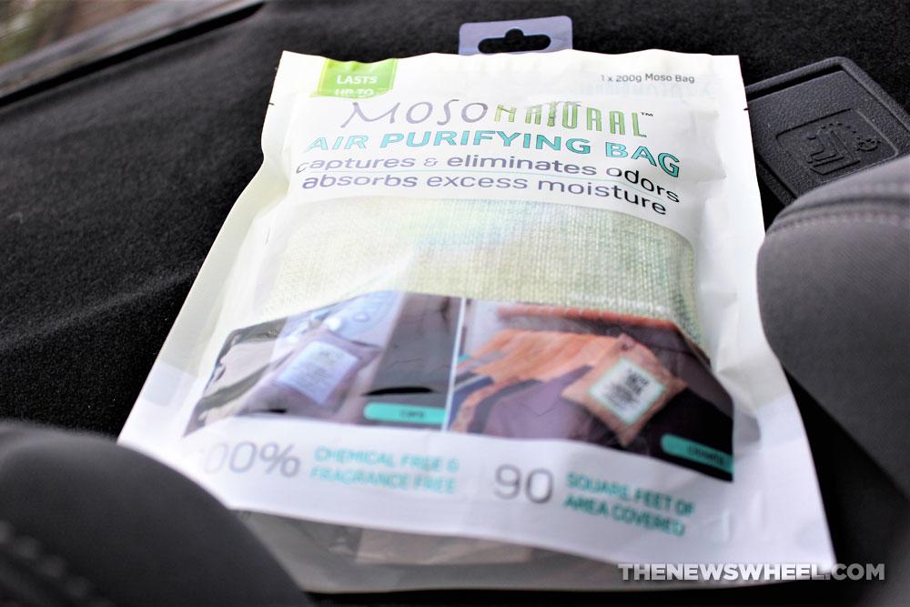Review Moso Natural Air Purifying Bag Absorbs Nasty Car