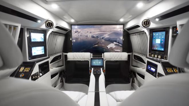 Lexani Motorcars Releases The New Escalade Sky Captain Piano Edition Photos
