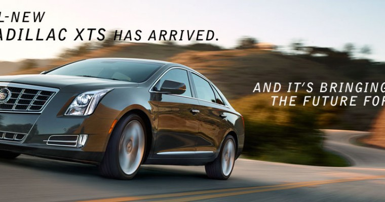 With Cadillac's 2013 XTS Luxury Sedan, the Future is Now