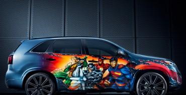 Kia Unveils Justice League Sorento